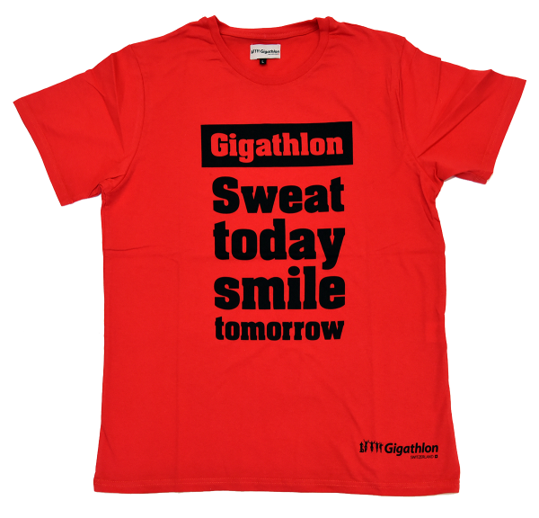 T-Shirt Herren «Sweat today»